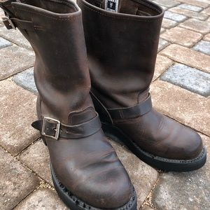 Frye Engineer's Boots size 8.5